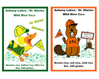 Oregon and Beaver Wild Rice Blends