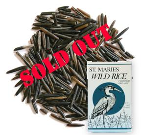 St. Marie's Wild Rice Certified Organic –  Grade A Premium
